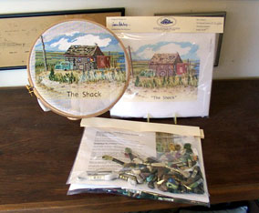 The Shack in Needlepoint Kit